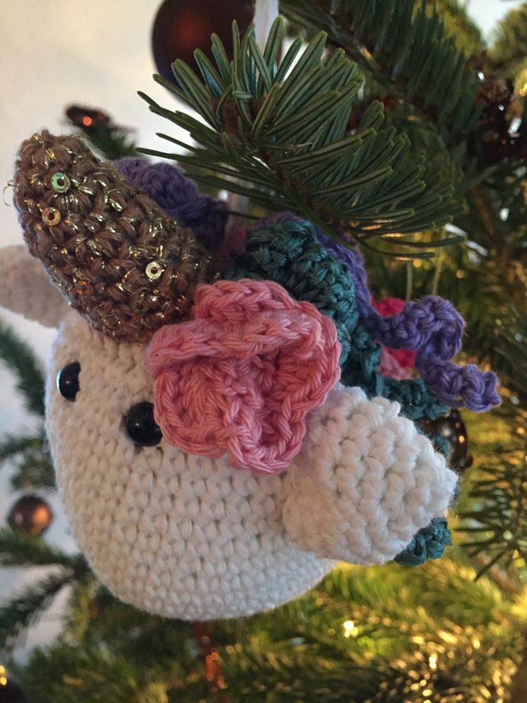 kerstbal eenhoorn